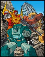 G1 Autobots poster 1 of 3 COLORS by Venom20XX