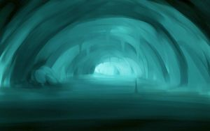 ice cave by valravnclaw