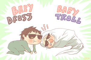 baby troll baby dross by KissUk