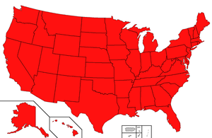States of Secession 2012 ALL FIFTY STATES!! by BlutEisen