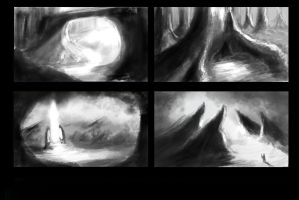 Environment Thumbnails 2 by swigganicks