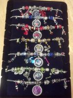 Transformers Bottle Cap Bling Bracelets! by Laserbot
