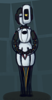 GLaDOS by Kas-the-Cat