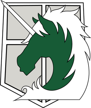 [Attack on Titan] Military Police Logo [*.AI file] by King-of-Craziness