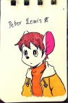 My OC character : Peter Lewis by doraemonbasil