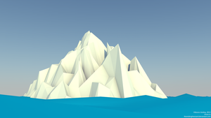 Low Poly Iceberg by TheMidnightWizard