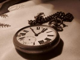 Silver Pocket Watch by Formel