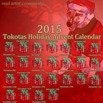 Tokotas Holiday Advent Calendar by noebelle