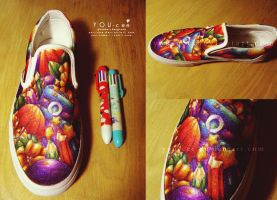 YOU-cee: Life is Art (VANS) by YOU-cee