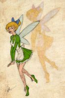 Disney Girls: Tinkerbell by KimberBee