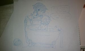 Tubby Time by purplehairedluv