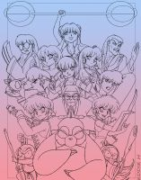 Ranma - lines by EddieHolly
