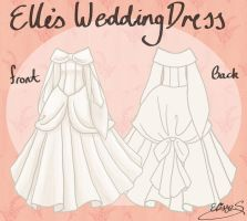 Elle's Winter Wedding Dress by EllieJoy