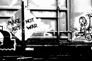Art Not War by AmateurExpert92