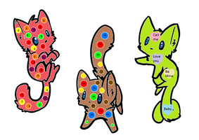 Candy Kitties by superstel