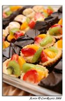 Dessert: Fruits Tarts by otaru23