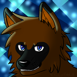 Mikosch Icon - The glowing blue by KilaWolfsblut