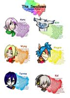 Character Profiles by BlackMage339