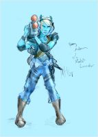 Andorian with Rocket Launcher by uvnote