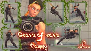 Super street fighter 4 PC - Gears of War Cammy by Siegfried129