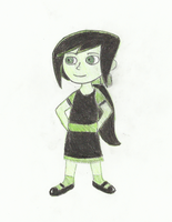 Little Shego by mickeymee