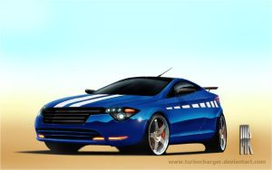 Sports CA by turbocharger