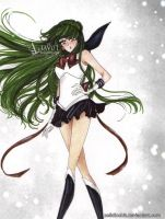 Sailor Pluto - a new age by zelldinchit