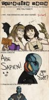 Fanservice Meme - Abe Sapien by CreepyCatProductions