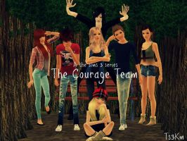 The Courage Team by TheSims3KawaiiMaker