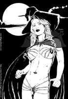 Sexy Witch Of THe West by ange10 for Megan by zenx007
