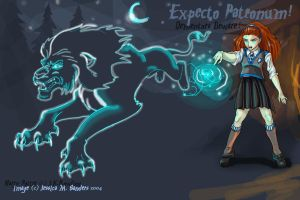 Expecto Patronum by sighthoundlady