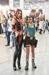 Lara Croft and Bloodrayne by TanyaCroft