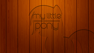 Wooden MLP Wallpaper by EmbersAtDawn