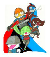 Keroro Gunso in: Team Fortress by Terreiness