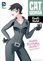 DC Comics | Catwoman | Cover by PolishTamales