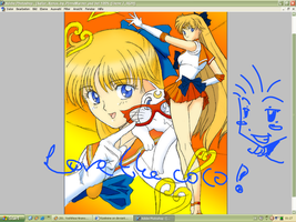Sailor Venus Colo by Rizelmine