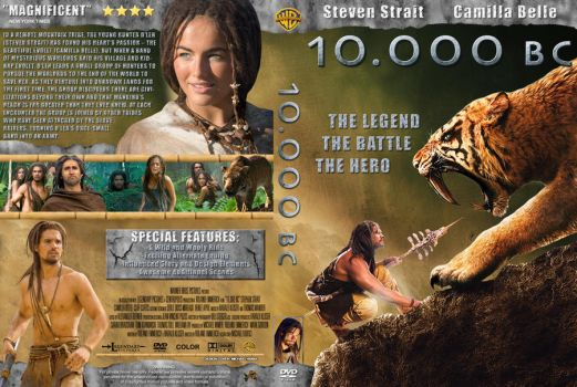 10.000 BC Cover DVD ver1 by michael160693