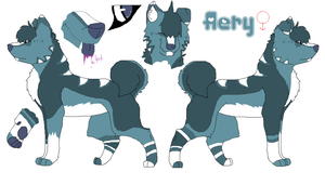 Aery reference sheet by musicanddrawing