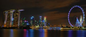 ...Singapore Skyline... by Haiiro---Ookami