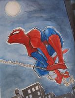 Spiderman by mjfletcher