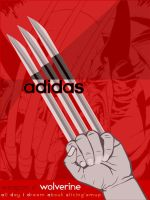 ADDIDAS:redefined_v1:wolverine by a-colorblind-boy