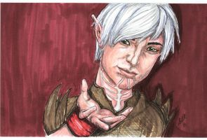 "Fenris,  ... ""at your side."" by Sla-r"