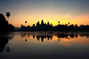Sunrise at Angkor Wat by GregoriusSuhartoyo