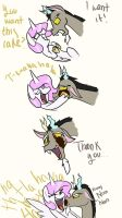 Discord wants cake by Riquis101