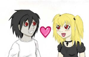 BxMisa - Shinigami Eye Twins by FrouFrou-chan