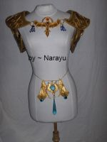 zelda armor complete old by Narayu