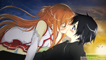 Sword Art Online ~ Kiss by hallow1791