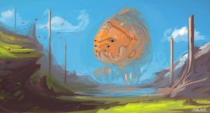 Big Orange Thing by Tirwa