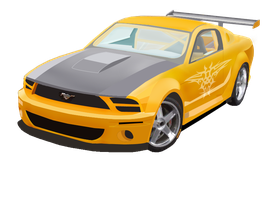 Mustang Vector by SeanJJ