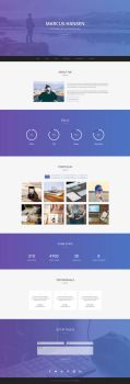 Geek - Personal Portfolio Template by templatewire